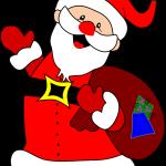 santa claus saint nick christmas xmas long beard